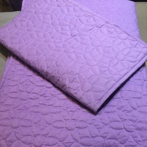Circo (Target) Full/Queen quilt w/2 shams, purple